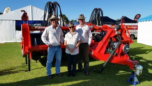 At Site 123 Lucindale Field Days