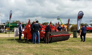 Lots of interest in the Farmax Spader at Dowerin Field Days